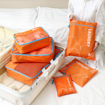 China Travel bags, 6pcs/set, include 3-mesh bag and 3-laundry pouch, made of polyester 290T, hot sales