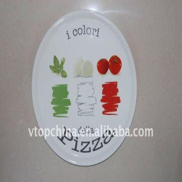 Solid Color Ceramic Pizza Plates China Solid Color Ceramic Pizza Plates & Solid Color Ceramic Pizza Plates with Decal | Global Sources