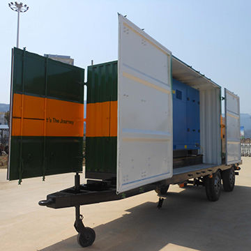 500L/D military Mobile Water Trailer Solution