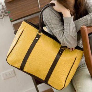 717360cf3b23 ... nwt China leather like purse shoulder hand bag large handbag tote hobo  satchel brown briefcase women new