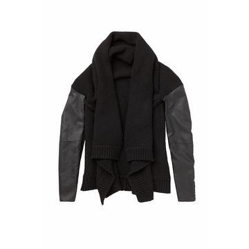 52e26813b Woven Leather Jacket