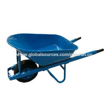 200kg 100l 7cbf Steel Heavy Duty Wheelbarrow For Construction