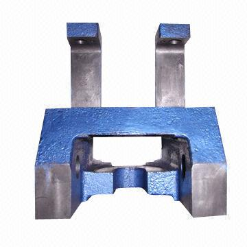 Clincher Base in Gray Iron, Sand Casting Processed, Made of