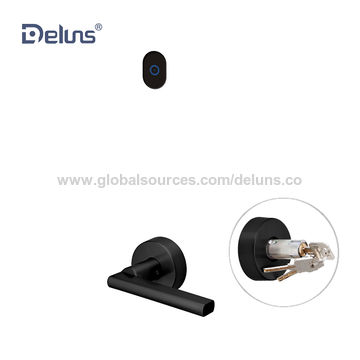 Beau Deluns Biometric Hotel Door Lock China Deluns Biometric Hotel Door Lock