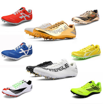 Men Track Spikes Shoes Running Track
