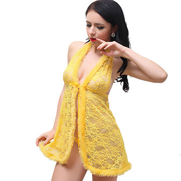 73c15a7ebd2 China Hot Sell Lace Sexy Lingerie with Fluff