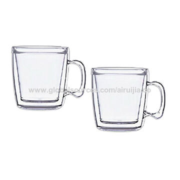 China Double Wall Insulated Coffee Mugs