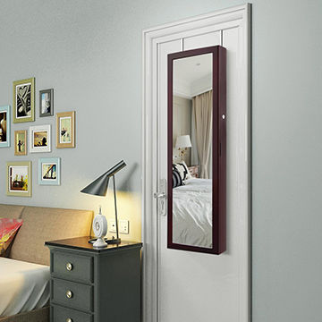 China Cheap Storage Organizer Full Length Mirror Hanging Wall Mounted  Jewelry Cabinets Mirror Jewelry Cabi ...