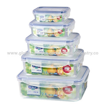 China Kitchenware BPA free Plastic Storage Box Airtight