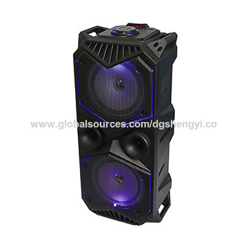 China Outdoor Portable Bluetooth Speaker With Microphone V4 2 Edr High Power Rechargeable Battery On Global Sources