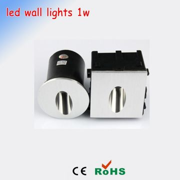 Square downlight 1w led wall light recessed lights wall light round china square downlight 1w led wall light recessed lights wall light round white warm white aloadofball Image collections