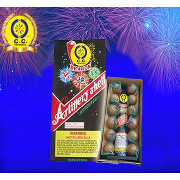 Artillery Shells Fireworks Single Double Triple Shots Ball