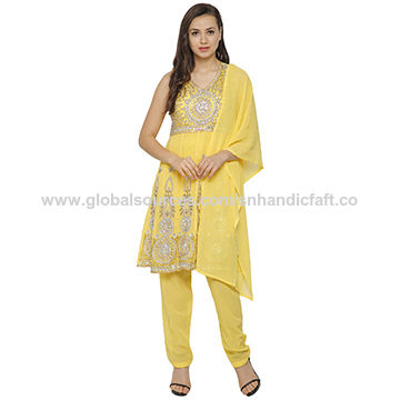 India Embroidered Party Wear Suits Designer Punjabi Suits Party Wear