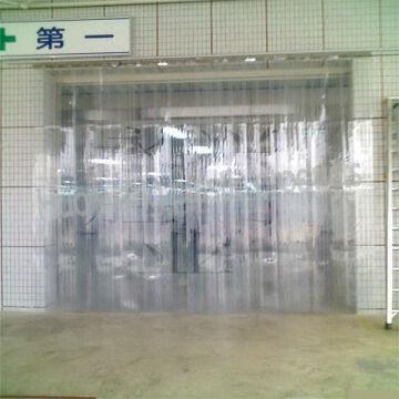 China Super Transparent Pvc Plastic Soft Door Curtain
