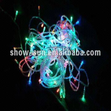 china 100 led flashing string outdoor christmas lights multi color