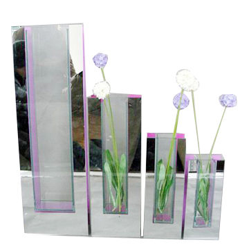 Acrylic Vases Flower Arrangement Vase 4 Section Vase Screen