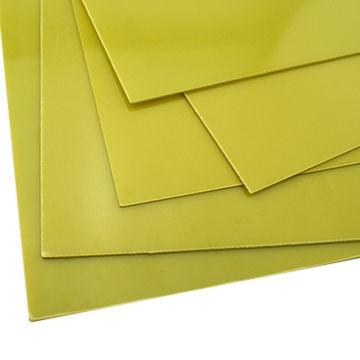 China 3240 yellow epoxy glass laminate insulation fiberglass