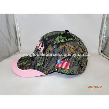 4d834f75350 China Pink Camo Baseball Cap from Dongguan Manufacturer  Dongguan ...