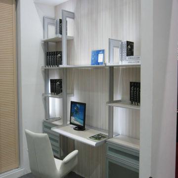 China Bookcase Bookshelf Computer Desk Children Study Living Room Furniture