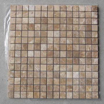 China Marble Mosaic Granite Stone Tile Light Emperador