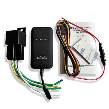 Real-time tracking car GPS tracker GT02D with Google Map
