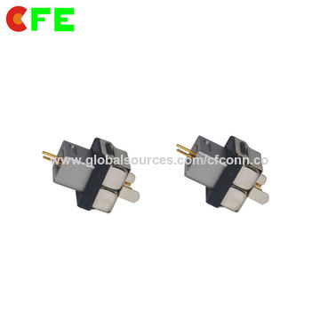 China Male and Female Pogo Pin Magnetic Connector