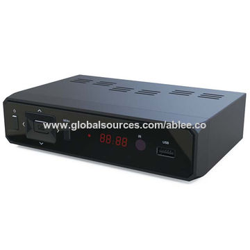China Fully Compliant ISDB-T/TB Standard HD Set-top Box, PVR Function, Factory Price for South America