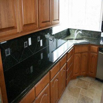 Wonderful China Verde Ubatuba Granite Countertop Supplier
