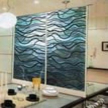Home Colorful Decorative Glass Partition Wall | Global Sources