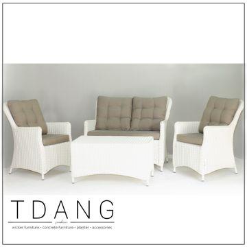 Vietnam Valencia 4 Piece Deep Seating Set Modern Sofa Wi