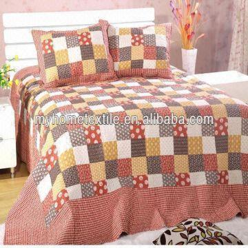 ... China Quilt Cover Bed Cover Bed Spread Bed Sheets Fabric  Materials:100%cotton/