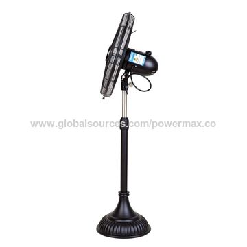 China 16'' Classical Fan Black
