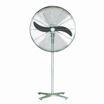Industrial Stand Fan Available In Silver Wall Fan Type Also