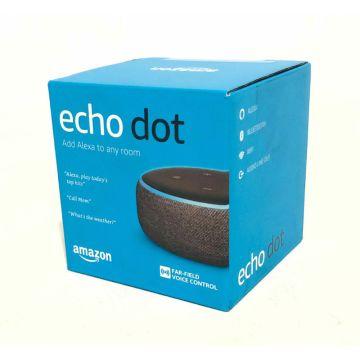 New Amazon Echo Dot 3rd Generation w// Alexa Voice Media Device Charcoal
