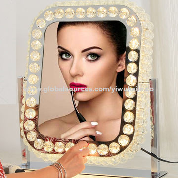Led Makeup Mirror Lighted, Luxury Makeup Mirror With Lights
