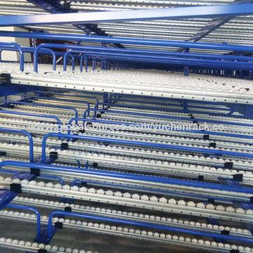 China carton flow rack & flow roller racks from Dalian Manufacturer