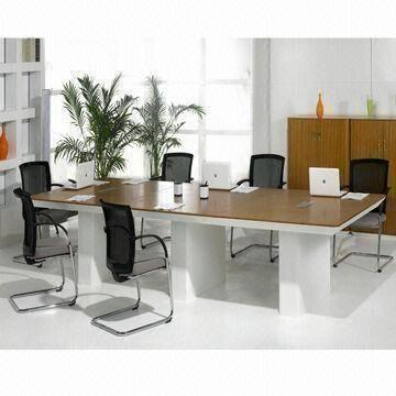 Conference Table With Solid Wood Surface And MDF Base Mini Type - Mini conference table