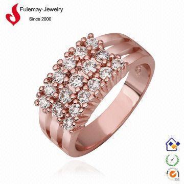 Saudi arabia latest gold ring designs FPR594