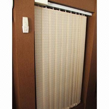 motorized vertical blinds retrofit vertical blind china motorized vertical blind sensitive remote control and printed