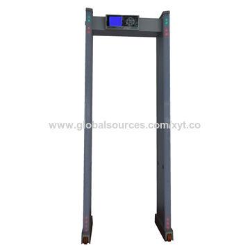 Police Facilities Door Frame Metal Detector Gate with 24 Zones, for ...