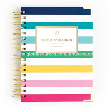 photo about Emily Ley Planner identified as China Emily Ley Planner, Hardcover, Matt Laminated, Finish