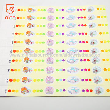 photo about Tyvek Wristbands Printable identify Tailored Tyvek Wristbands