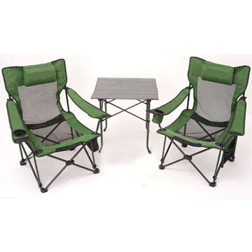 ... China Heated Outdoor Metal Folding Fabric Camping Chair