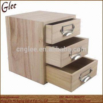 ... China Natural Wood Small Storage Box Wooden Drawer Box & Natural Wood Small Storage Box Wooden Drawer Box | Global Sources