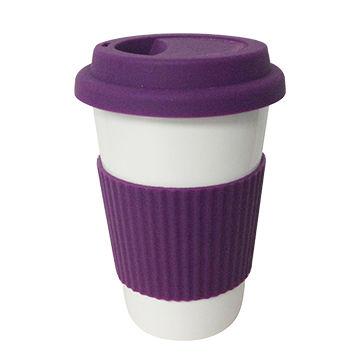 China Ceramic Porcelain To Go Coffee Mug