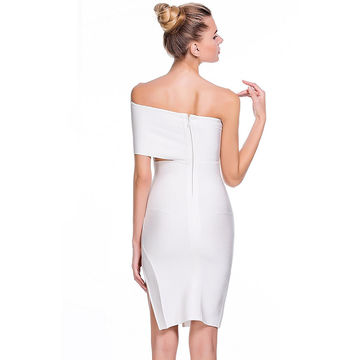 Sexy white cut out dresses think