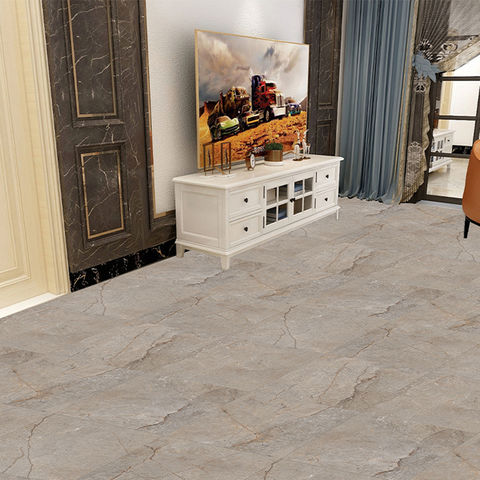 China Cork Pattern Pvc Floor Tile With Thickness Of 30mm On Global