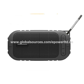 China Waterproof IPX5 portable Bluetooth speaker, TF card USB/sport handsfree call with carabiner sport