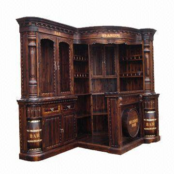 China Corner Bar Counter And Cabinet Measuring 250 X 150 220cm