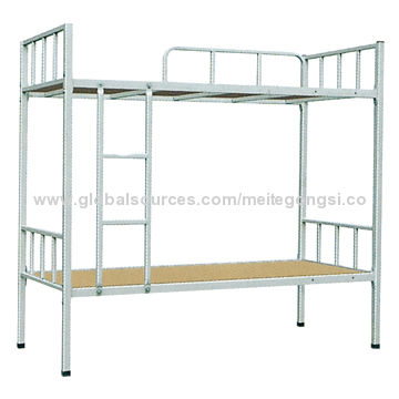 Metal Bunk Bed With High Quality Cold Rolled Steel Material
